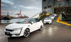 Honda : les Clarity Fuel Cell à hydrogène arrivent en Europe