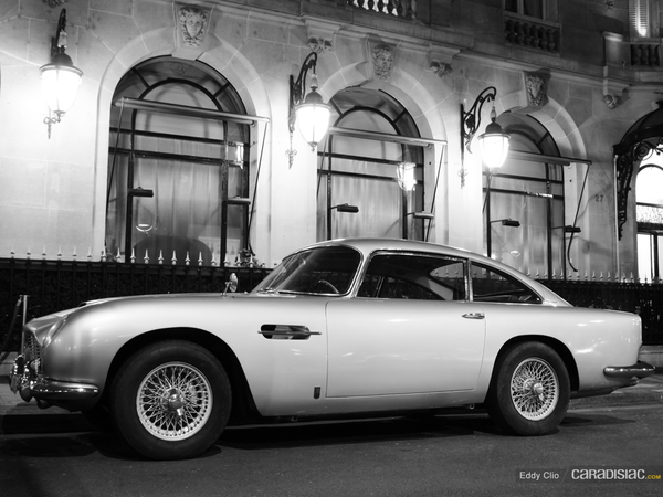 Photos du jour : Aston Martin DB5