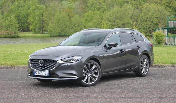 Essai vidéo - Mazda 6 restylée (2018) : la nippone sauce premium