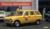 Miniature : 1/43ème - PEUGEOT 204 break