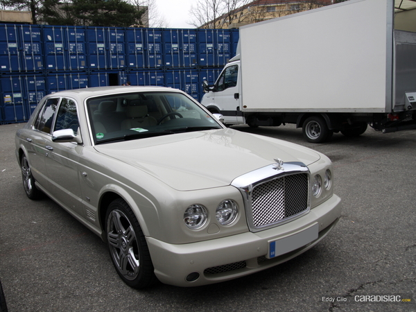 Photos du jour : Bentley Arnage Final Series