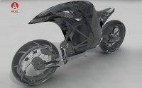 Retour d'Ariel en moto, bientôt de la production?