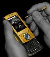 Hummer lance son premier téléphone mobile