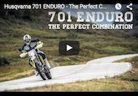"""Vidéo: Husqvarna 701 Enduro """"The Perfect Combination""""... une nouveauté vieille de 8 ans!?!"""