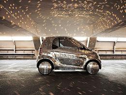 La Smart électrique adopte un look disco