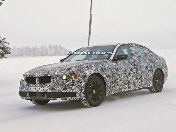 Surprise : la future BMW Série 5 très allégée