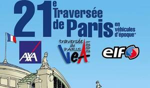 21ème traversée de Paris en véhicules d'époque le 31 janvier