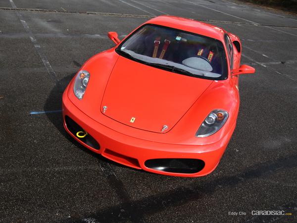 Photos du jour : Ferrari 430