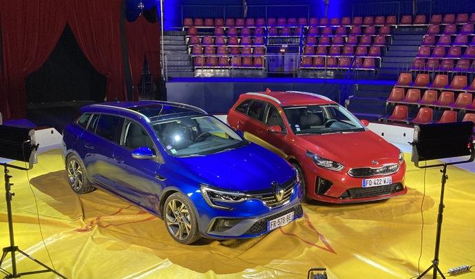 Comparatif vidéo - Kia Ceed SW hybride rechargeable VS Renault Megane Estate E-Tech hybride rechargeable : breaks tendance