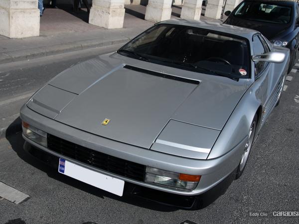 Photos du jour : Ferrari Testarossa