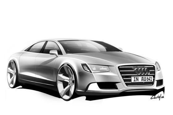 Futures Audi A5 Cabrio, A5 Sportback, A7 et A8 : les dessins officiels