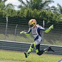 Moto GP - Rossi: A vous de chercher la chute