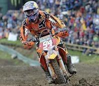 Motocross mondial : GP de République Tchèque, nouveau doublé de ken Roczen