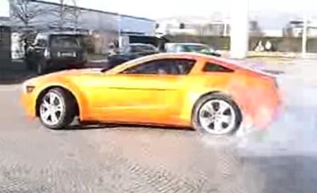 Vidéo Concept Mustang Giugiaro : fonctionnel (plutôt bien)
