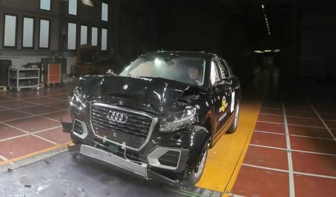 Audi Q2 : le SUV urbain décroche 5 étoiles au crash-test