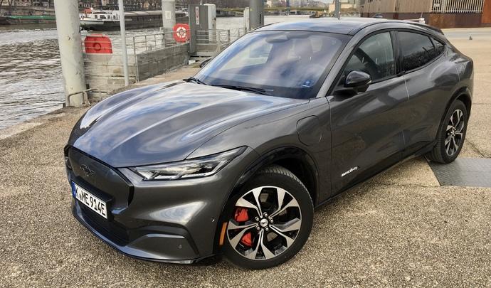 Essai - Ford Mustang Mach E (2021) : Volt-face