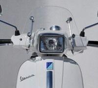 Pare-brise Ermax pour la Vespa 50/ 125 S.