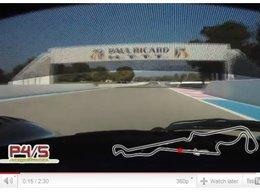 [vidéo] embarquez dans la Ferrari P4/5 Competitzione sur le Paul Ricard