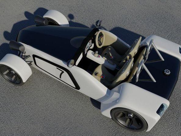 [design] Lotus New 7 Concept, pour sauvegarder l'esprit