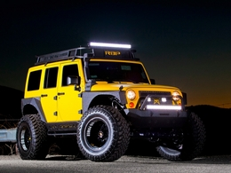 Rolling Big Power transforme la Jeep Wrangler en bigfoot