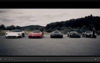 Ring Folies Vidéo : Ferrari Enzo, Porsche Carrera GT, Maserati MC12, Zonda Pagani et Koenigsegg CCX en mode Time Attack