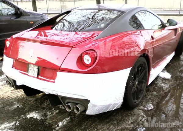 Imminente Ferrari 599 GTO: Est-ce bien elle?