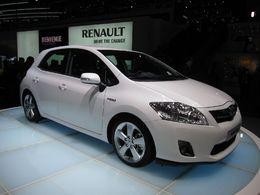 Il est possible de commander la Toyota Auris hybride