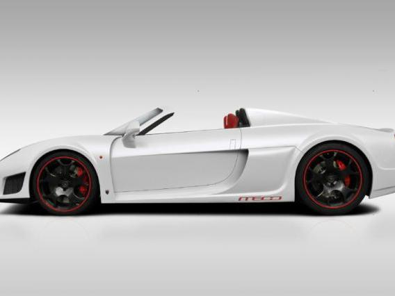 Noble lance la production du roadster M600