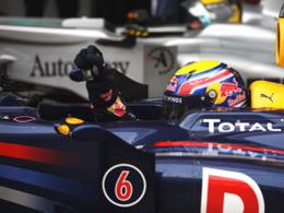F1 GP Barcelone : Mark Webber de bout en bout, la bonne opération pour Fernando Alonso