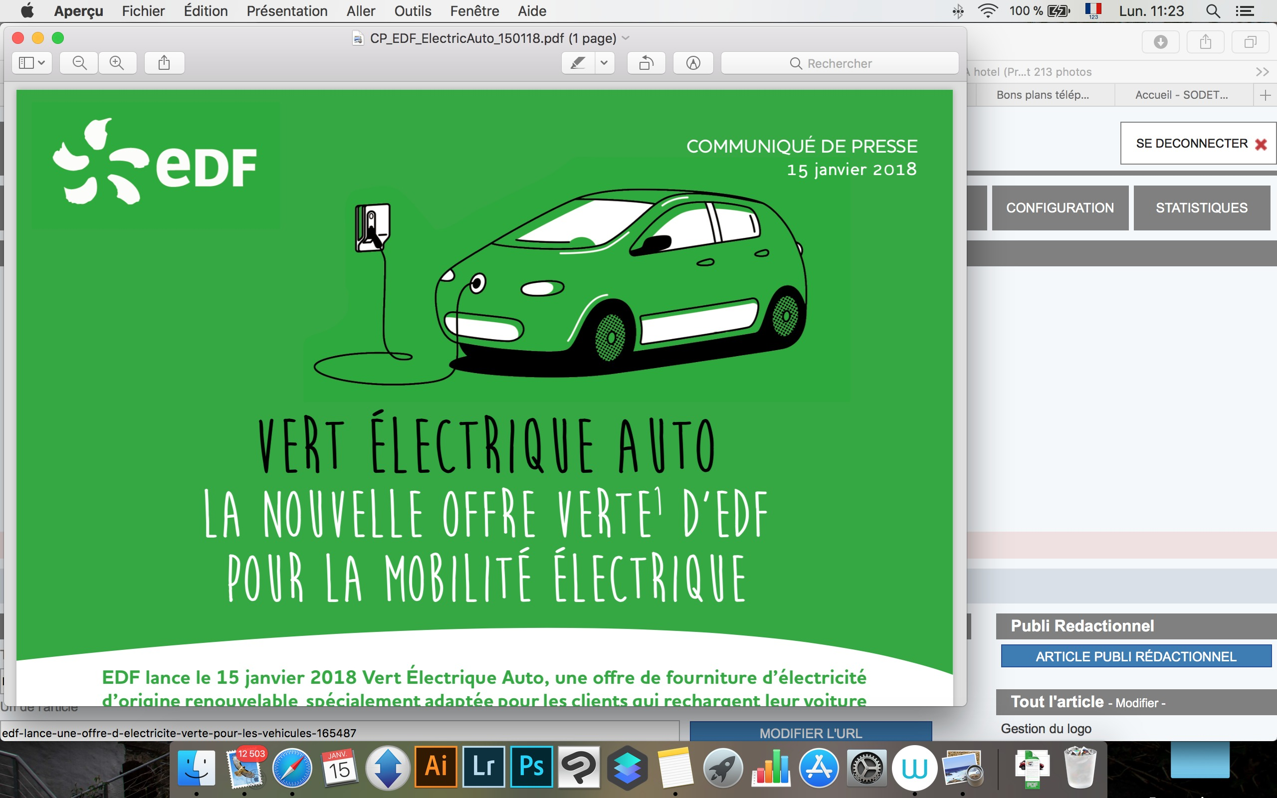 À domicile, EDF vous propose une recharge moins chère — Voiture électrique