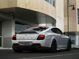 Bentley Continental Platinum GTO par Onyx Concept : hypersport