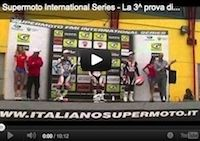 Supermotard, championnat internationnal d'Italie 2012, round 3: la vidéo