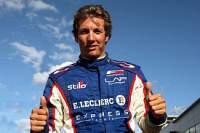 Julien Jousse au départ des 24 Heures du Mans avec Luc Alphand Aventures