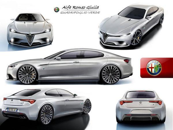 La future Alfa Romeo Giulia ira se frotter aux BMW M3