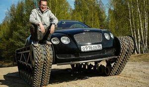 Ils greffent des chenilles à une Bentley Continental GT