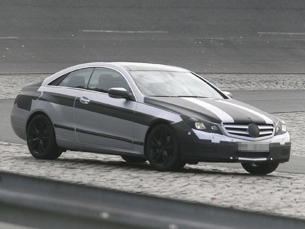 Futur Mercedes Classe E Coupé ex-CLK : quasiment clair
