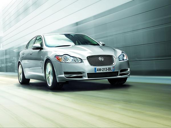 Jaguar XF Edition Limitée, mais pas dans ses équipements
