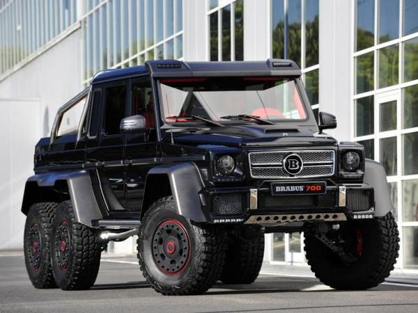 rapid 39 news brabus s 39 attaque aux mercedes classe g six roues. Black Bedroom Furniture Sets. Home Design Ideas