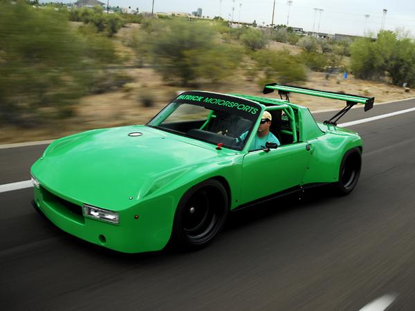 Porsche 914 V8 Blown Monster, celle que n'a pas osé Porsche (ou presque)