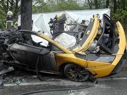 Une Lamborghini LP570-4 Superleggera se crashe en Allemagne, deux morts