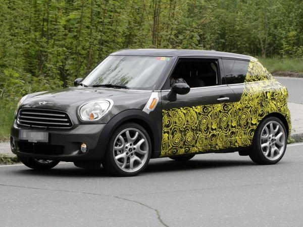Le futur Mini Countryman Coupe en promenade