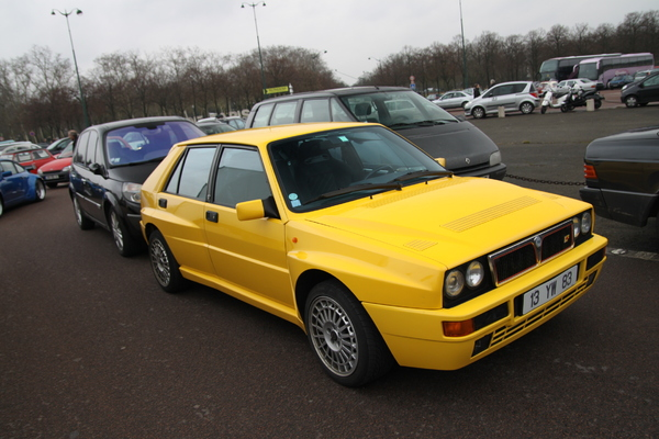 Photo du jour : Lancia Delta Integrale HF Evolution