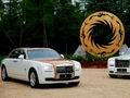Rolls Royce Ghost Golden Sunbird, pour la Chine évidemment