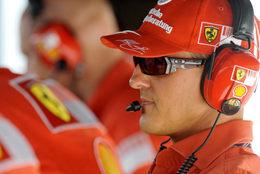"F1 Ferrari : M.Schumacher "" Kimi devrait demander plus d'aide"""