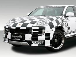 Cargraphic - Le Porsche Cayenne du 25ème anniversaire