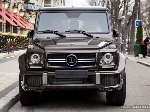 photos du jour brabus classe g63 amg 620. Black Bedroom Furniture Sets. Home Design Ideas