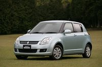 Suzuki Swift Phase 2 (version JDM) : repoudrage de nez