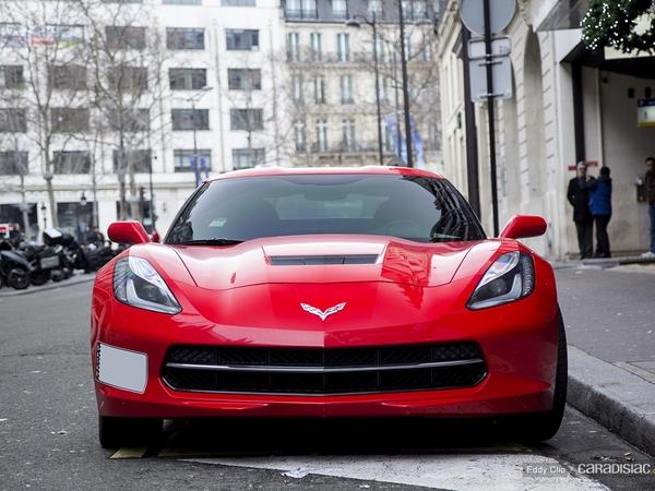 Photos du jour : Chevrolet Corvette Stingray