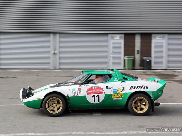 Photos du jour : Lancia Stratos (Spa Italia)