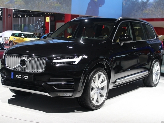 le volvo xc90 monte en gamme pour la chine. Black Bedroom Furniture Sets. Home Design Ideas